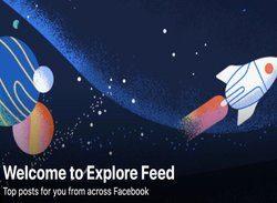 facebook explore feed scade traficul organic news feed